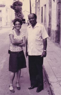 Con Enrique Jorrín